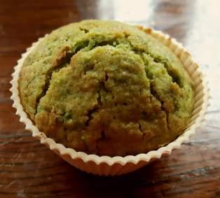Spinach muffin