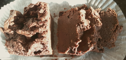 Chocolate sweet potato bread