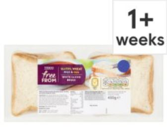 Tesco Gluten free vegan white bread